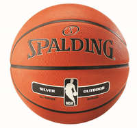Spalding Basketball NBA Silver Outdoor New